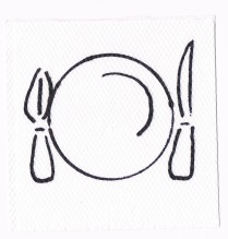 Napkin artist Dinner plate and friends