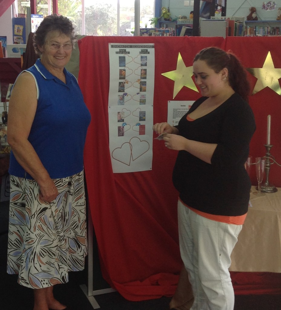 LoveMatch scoring fun at Wairoa Public Library